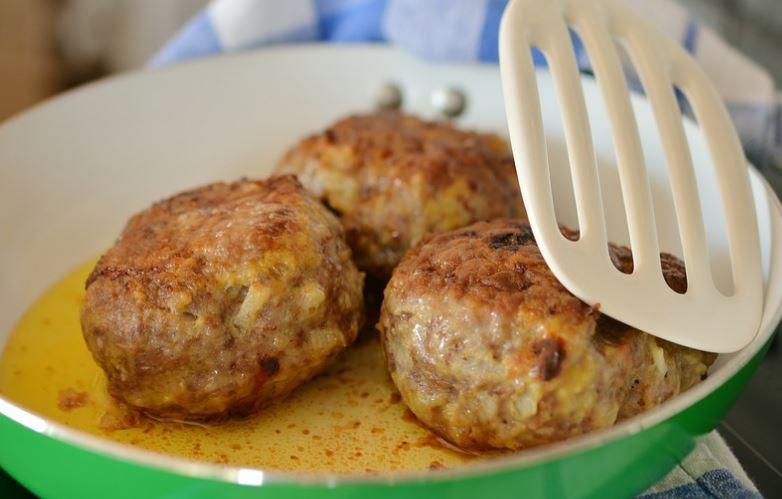 receta de Albondigas de pollo y cerdo