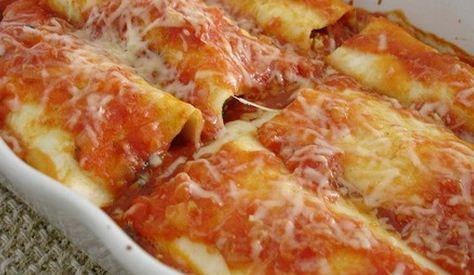 Canelones de pollo recetas de pollo for Ingredientes para cocinar