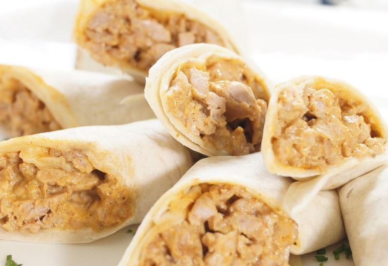 Receta de Tacos de pollo picante