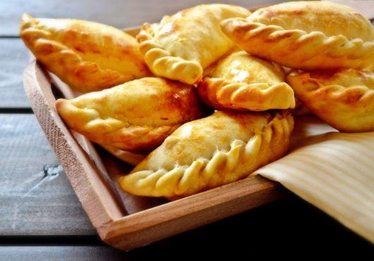 receta de Empanadas de pollo a la mostaza