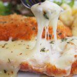 Receta de Hamburguesas de pollo rellenas con queso