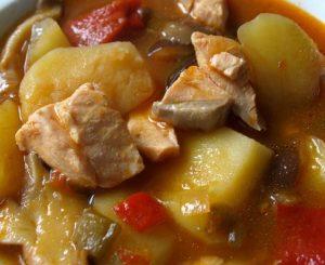 Receta de Marmitako de pollo
