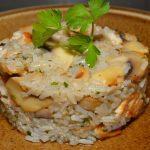 Receta de Moldeado de pollo y arroz