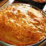 Receta de Pascualina de pollo y crema