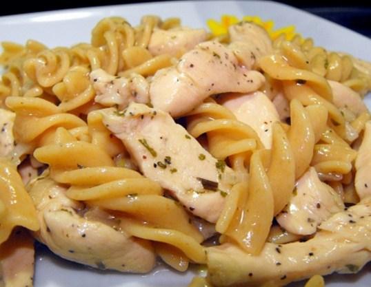 Receta de Pasta con pollo