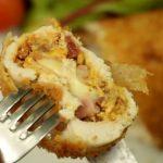 Pechugas de pollo con queso cheddar