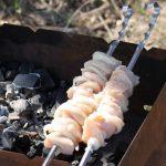 Receta de Pinchos de pollo y cebolla fáciles