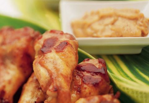 Receta de Pollo asado con mantequilla de maní