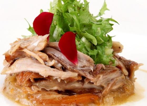 Pollo en escabeche oriental