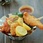 Pollo en tempura al limón