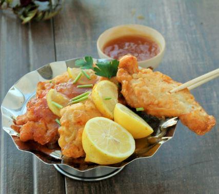 Receta de Pollo en tempura al limón