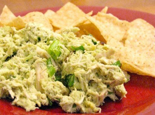 Receta de Pollo para nachos