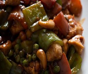 Receta de pollo Kung Pao