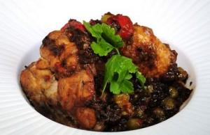Receta de pollo a la calabresa