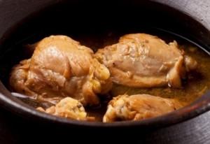 Receta de pollo al coñac