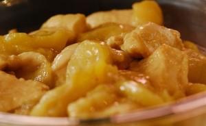 Receta de pollo con manzanas y sidra