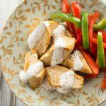 Receta de pollo con salsa blanca fácil