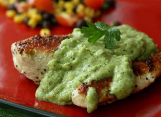 Receta de pollo en salsa verde recetas de pollo - Como se hace pollo en salsa ...