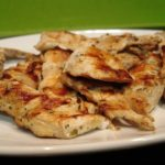 Receta de pollo grille light