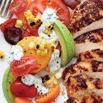 Receta fácil de pollo grillado