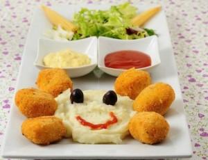 Recetas de pollo divertidas para niños