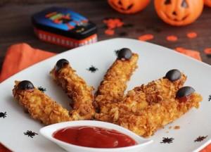 Recetas de pollo para Halloween