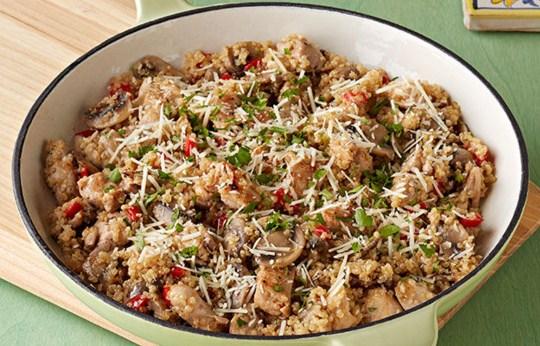 Receta de Risotto de quinoa y pollo