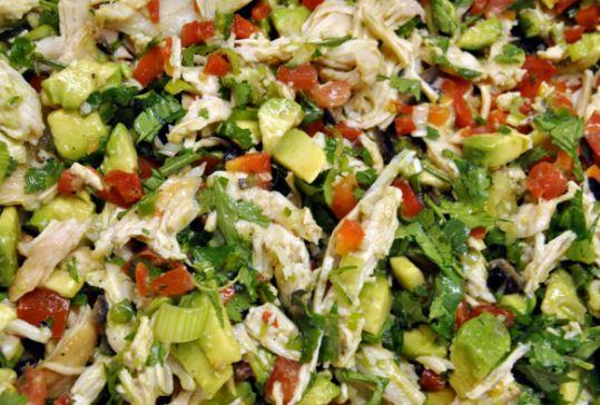 Salpic n de pollo bajas calor as recetas de pollo - Calorias boquerones en vinagre ...