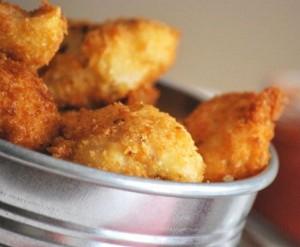 Snack con pollo