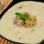 Receta de Sopa cremosa de pollo