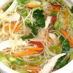 Receta de Sopa de pollo estilo oriental