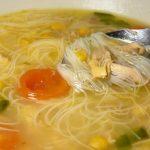 Receta de sopa de pollo y fideos al microhondas