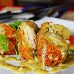 Suprema de pollo en salsa de ajo y tomillo