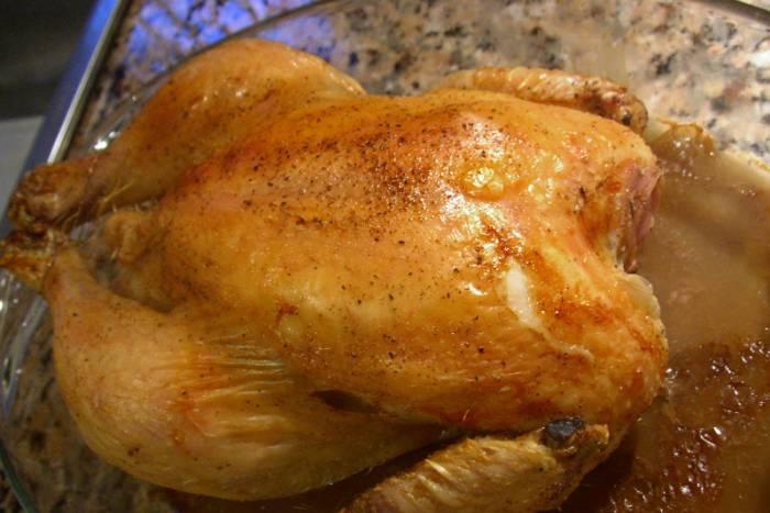 Pollo con costra