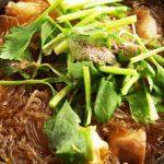 Receta de Pollo thai con fideos de arroz