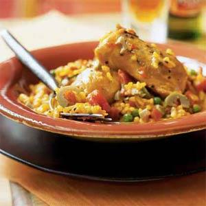 receta-de-pollo-al-azafrán